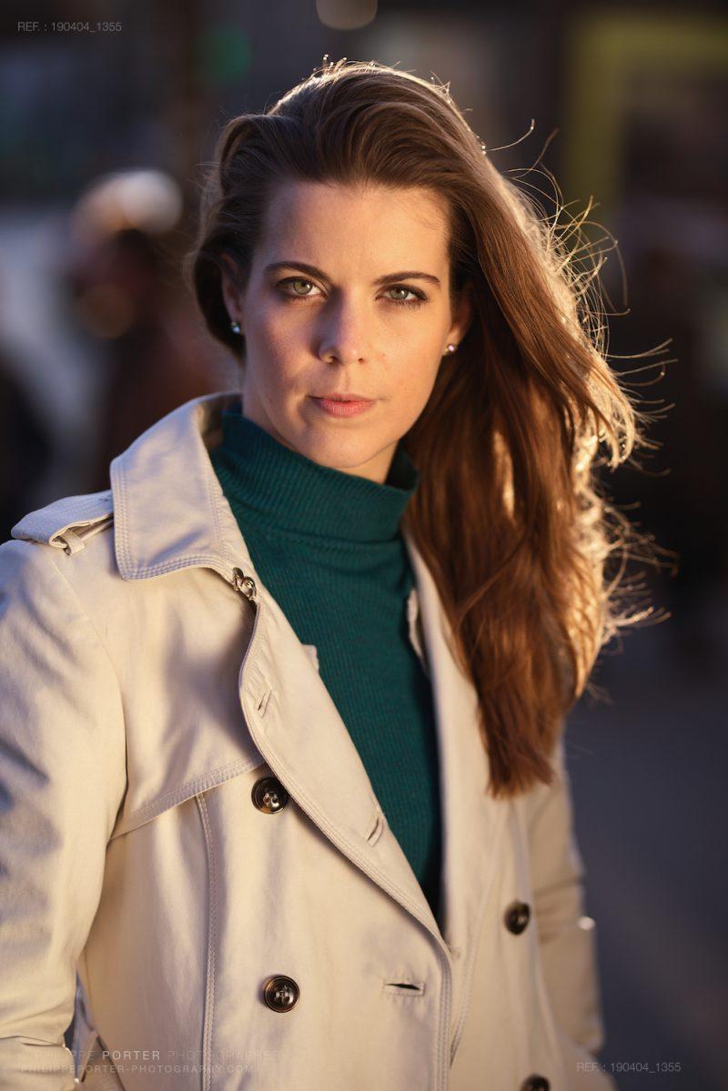 Krisztina Magyar, actress, dance Philippe Porter photos shootings Portraits