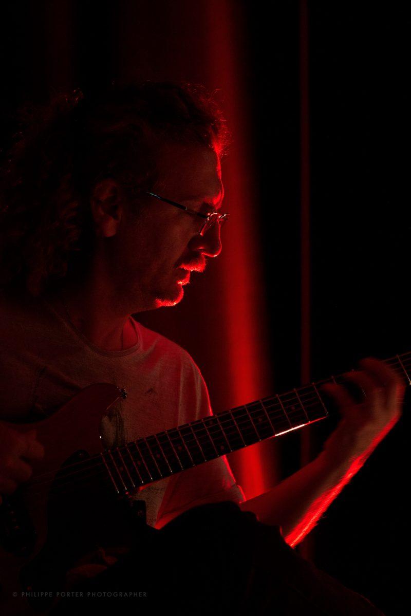 Guitare Roberto Stimoli guitare / Gera Bertolone en concert Juin 2021 Arie del Sud