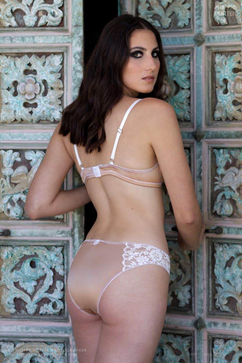 Alixia Cauro Miss Corse Bucolik' lingerie Nice Philippe Porter photographe